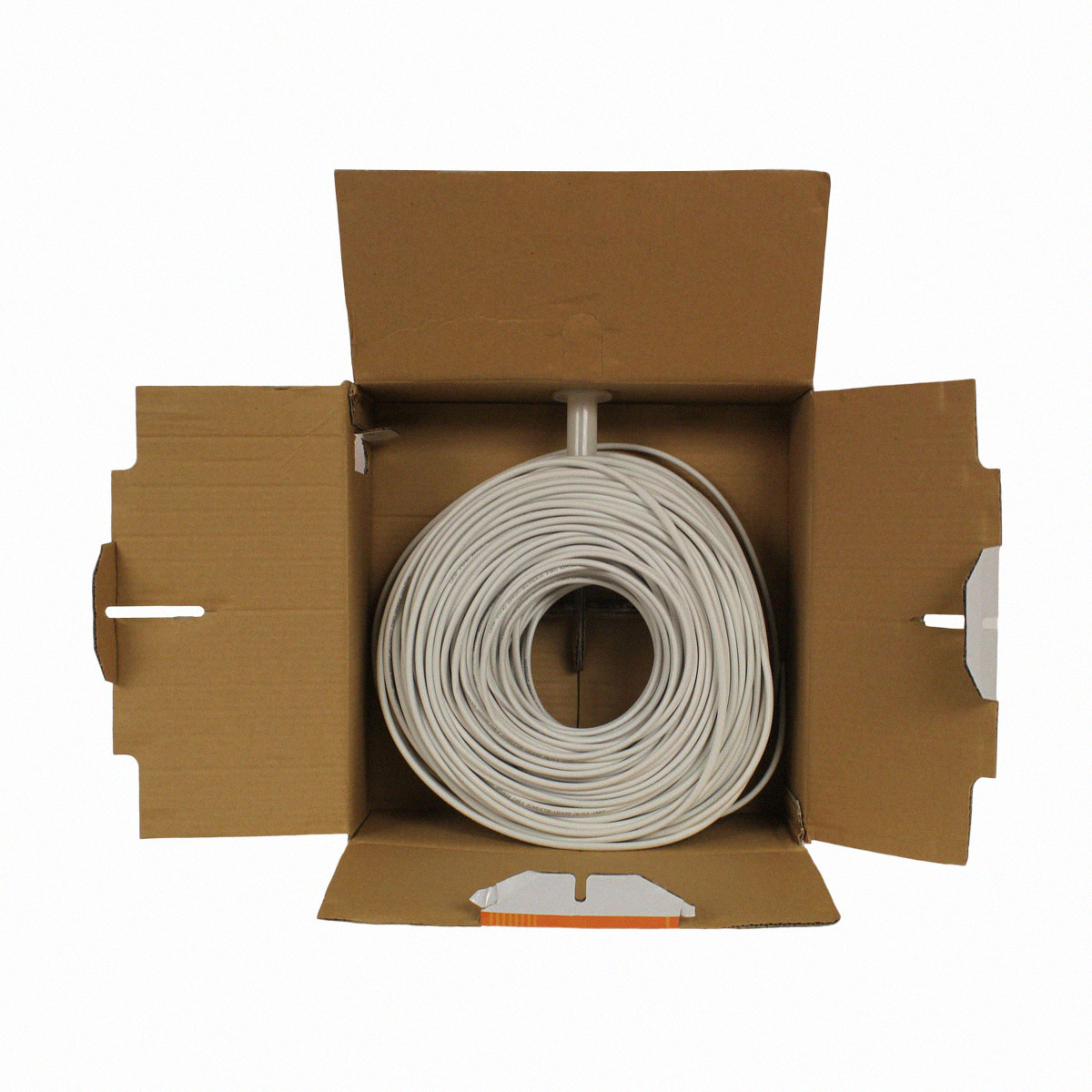 500ft in wall audio speaker cable wire cl2 12 2 awg gauge 2 conductor bulk white ebay. Black Bedroom Furniture Sets. Home Design Ideas